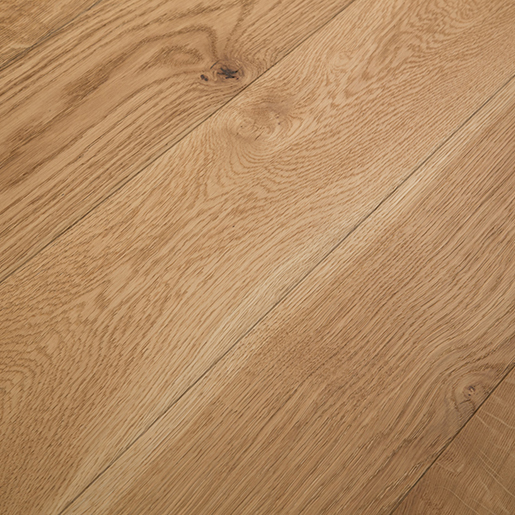 White Oak Natural Engineered Flooring Brushed Clear 3 5mm
