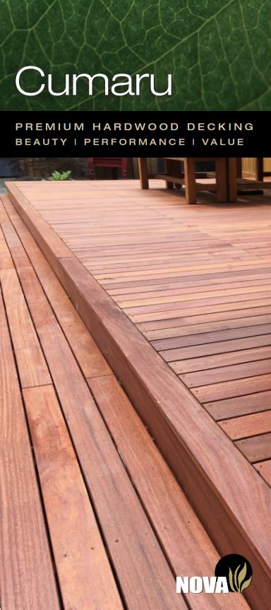 Cumaru Decking Brochure