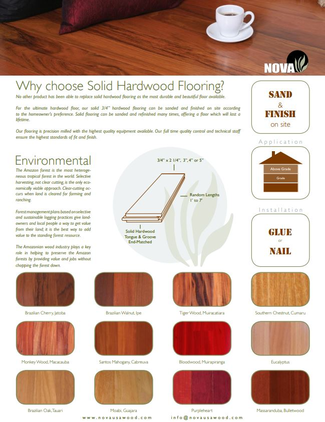 Why Solid Hardoow Flooring