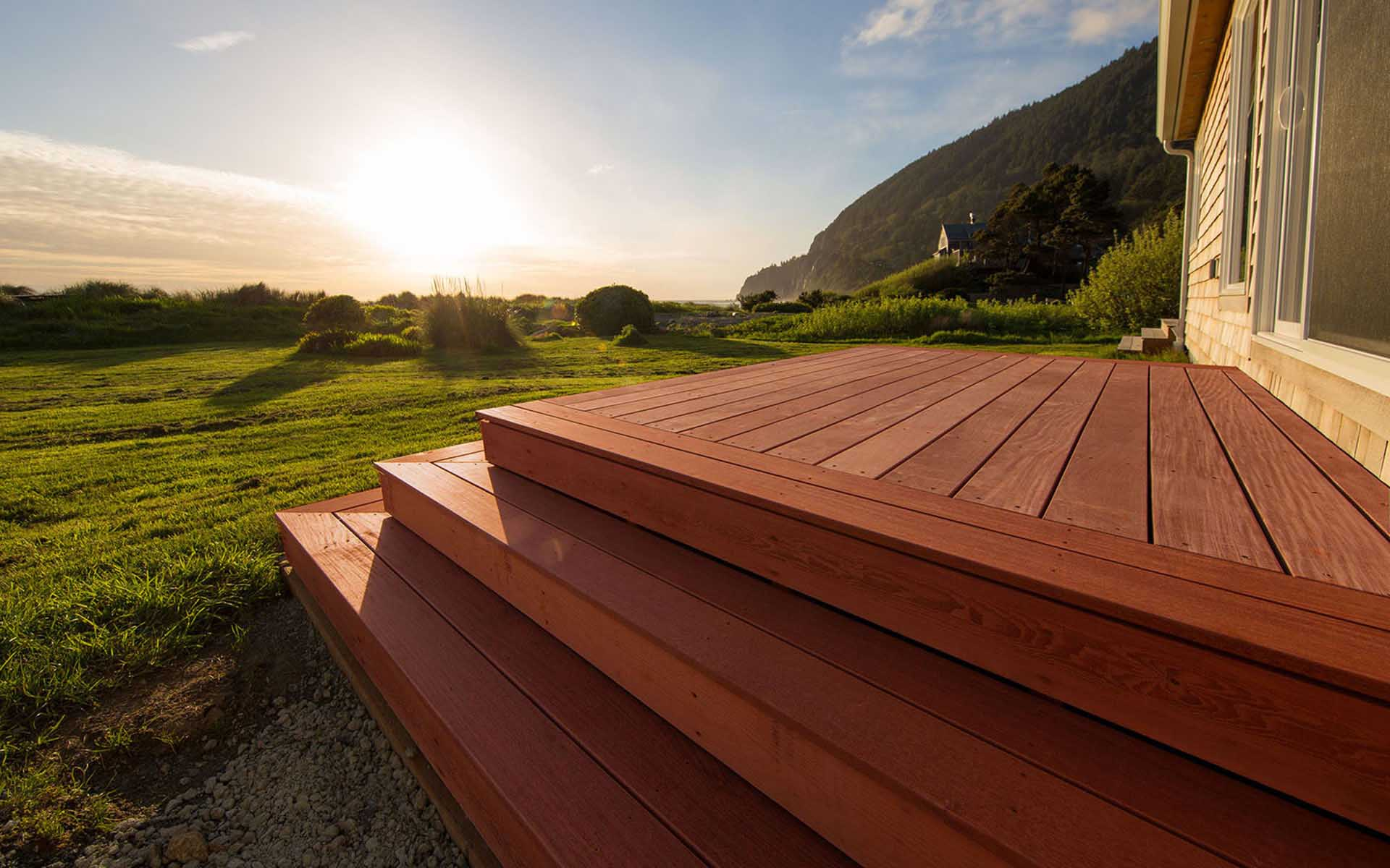 Deck Spacing at the Coast