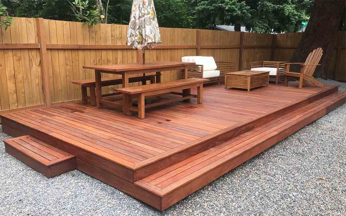 hardwood vs composite decking