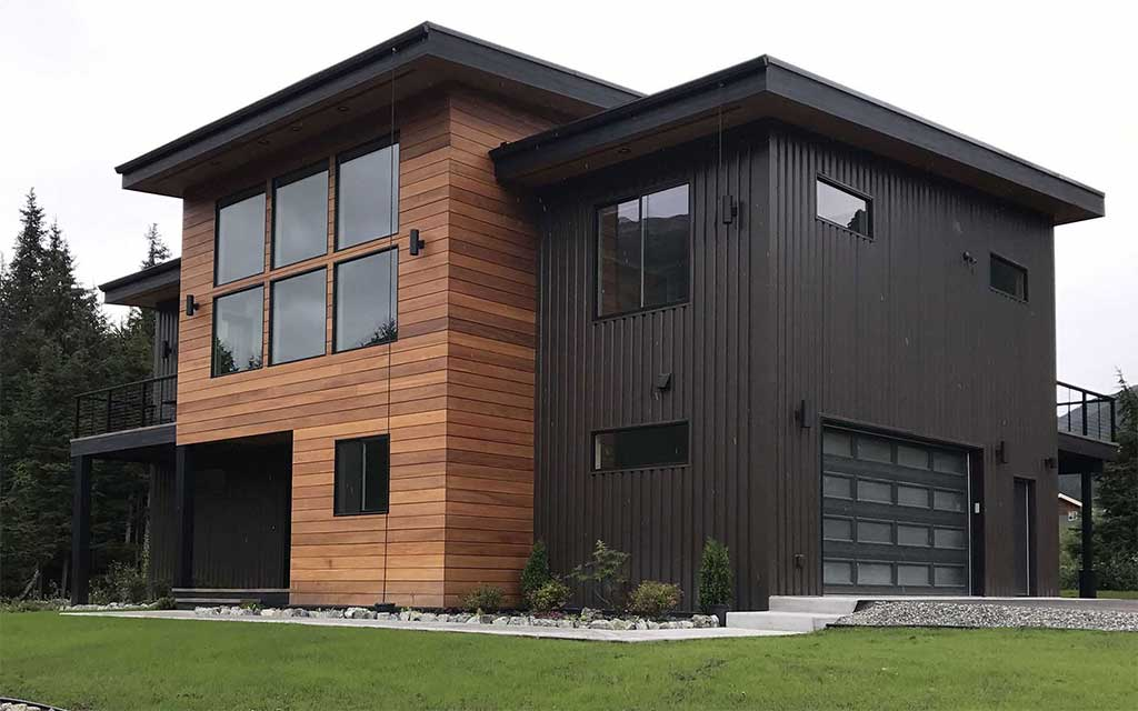 Wood Siding-Front Facia