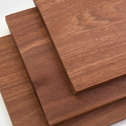 Batu 1x10 Trim Boards, Red Balau S4S Square Edge Fascia Board