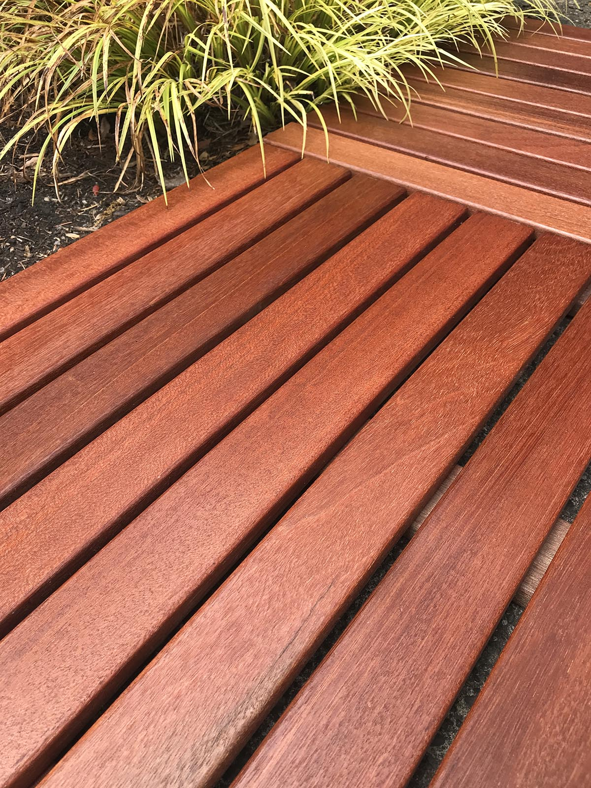 Batu Deck Tile with ExoShield Natural Wood Stain