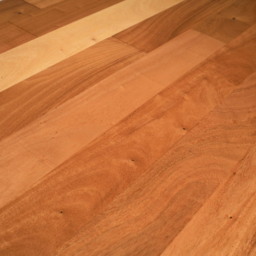 "Amendoim 4"" Clear Hardwood Flooring"