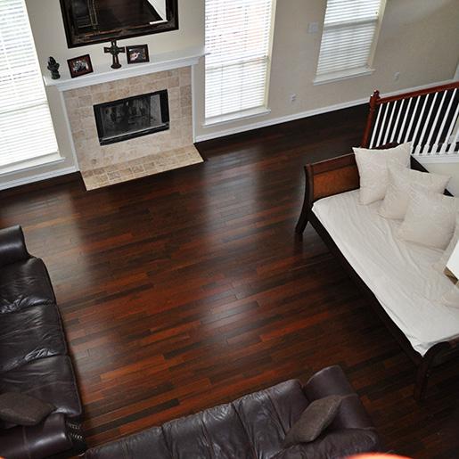 ... Ipe Prefinished Clear Hardwood Flooring ...
