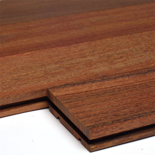 "Ipe 4"" Clear Brazilian Walnut Unfinished Flooring"