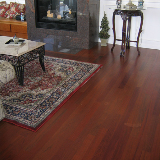 Brazilian Cherry 2 1 4 Quot Clear Unfinished Jatoba Flooring