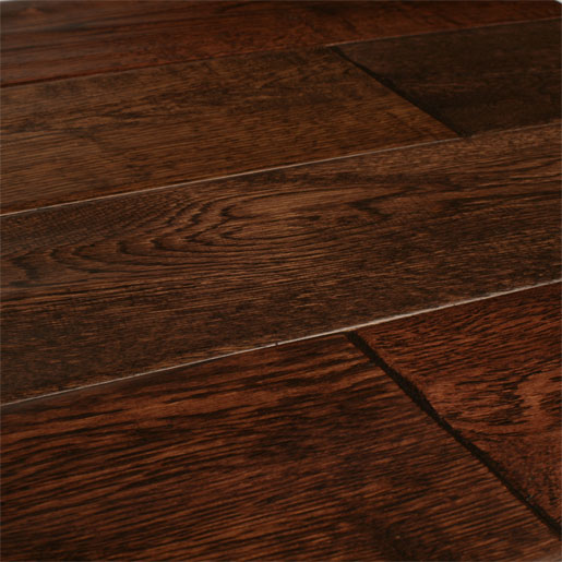 White Oak Coffee Hardwood Flooring Handscraped Abcd 4 9 Quot
