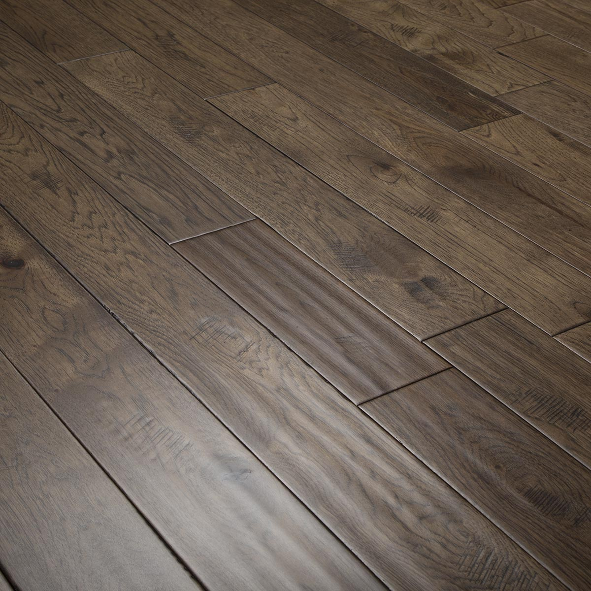 Hickory Asher Gray Hardwood Flooring Handscraped Abcd 4 9 Quot