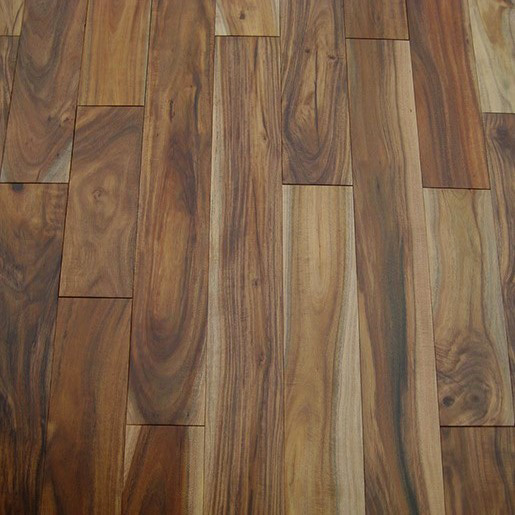 Acacia Engineered Flooring Natural Finish ABC 2mm Face 4.8""