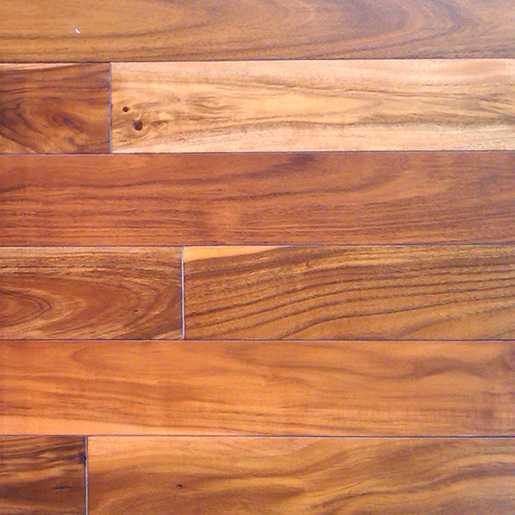 Acacia Prefinished Flooring Tigerwood Handscraped ABCD 3-1/2""