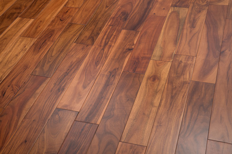 """Acacia Prefinished Flooring Bronze Smooth ABCD 3-1/2"""""""
