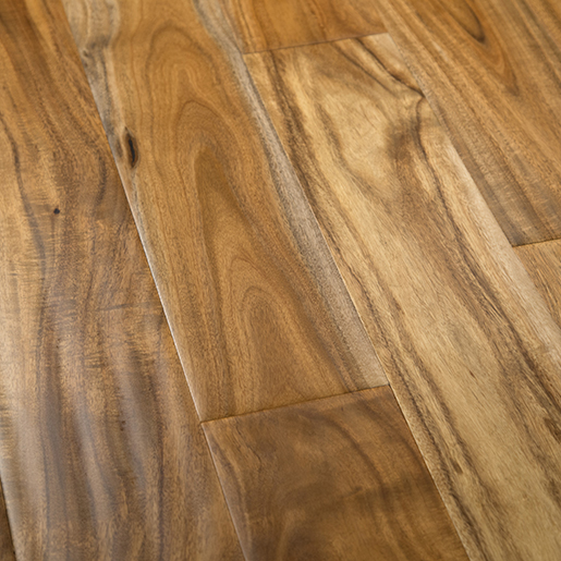 Acacia Handscraped Engineered Flooring Natural Finish 2mm Face 4.8""