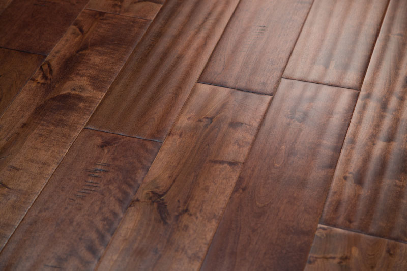 Elemental Handscraped Birch Hardwood Flooring
