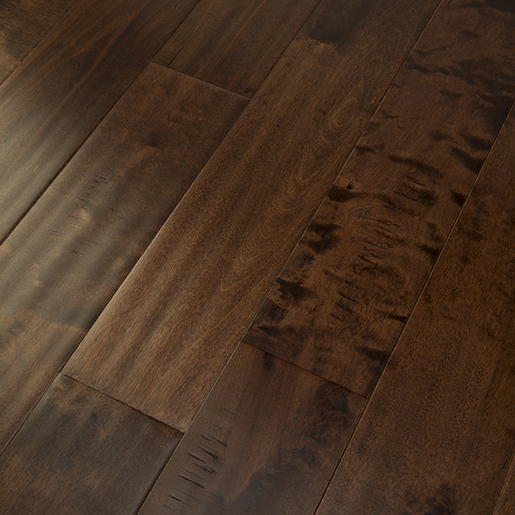 Birch Chestnut Hardwood Flooring Handscraped BCD 4.7""