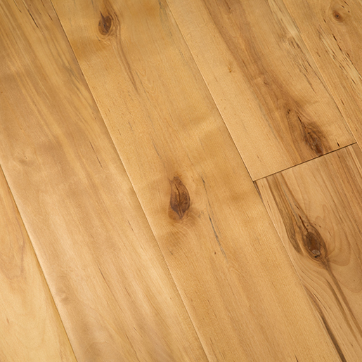 Birch Natural Hardwood Flooring Handscraped BCD 4.7""