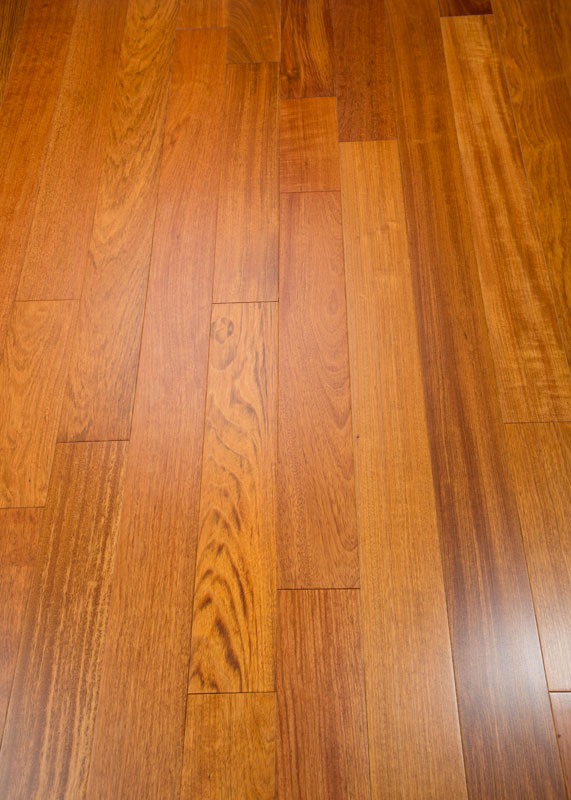Brazilian Cherry, Jatoba Prefinished Clear Hardwood Flooring