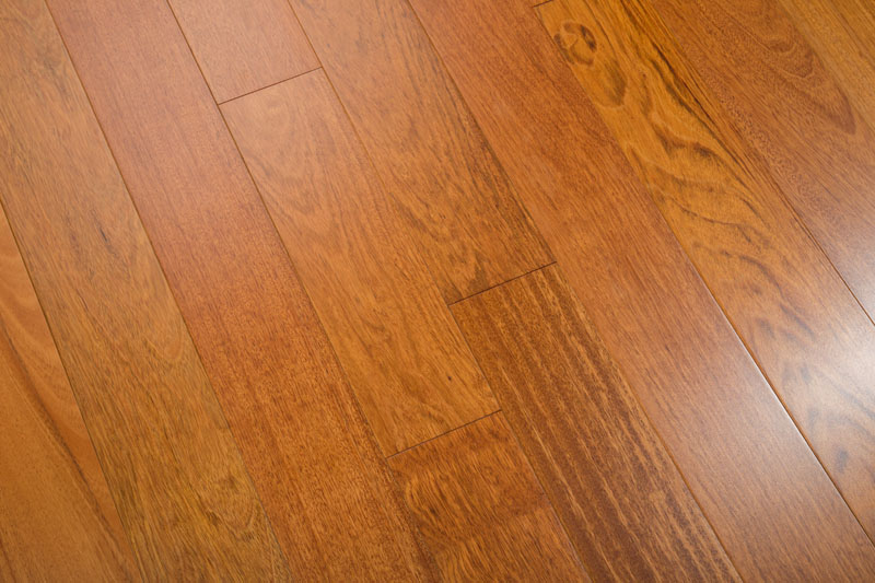 "Brazilian Cherry 3-5/8"" Clear Prefinished Jatoba Flooring"