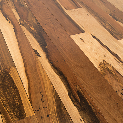 Brazilian Hickory, Guajuvira Natural Hardwood Flooring Smooth 4""