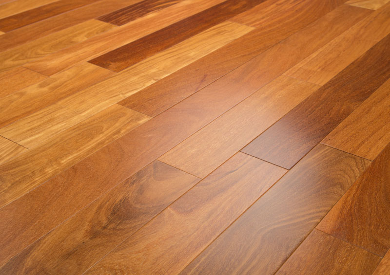 Brazilian Teak Prefinished Clear Hardwood Flooring