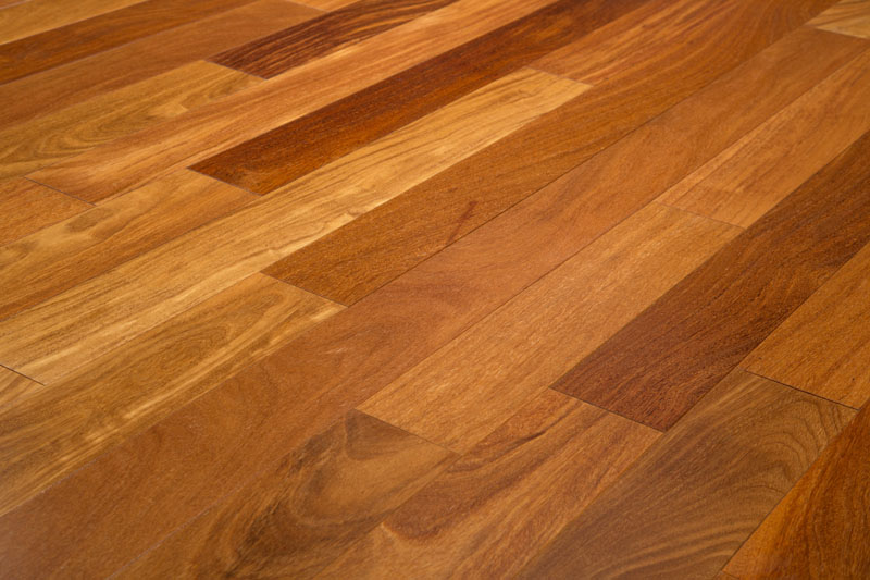 "Cumaru 5"" Clear Prefinished Brazilian Teak Hardwood Flooring"