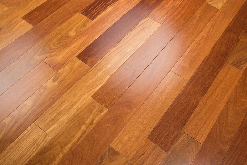 Dark Cumaru Brazilian Chestnut Prefinished Clear Hardwood Flooring