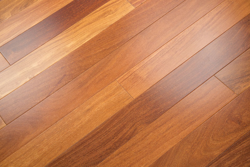 "Cumaru 5"" Clear Unfinished Brazilian Teak Hardwood Flooring"