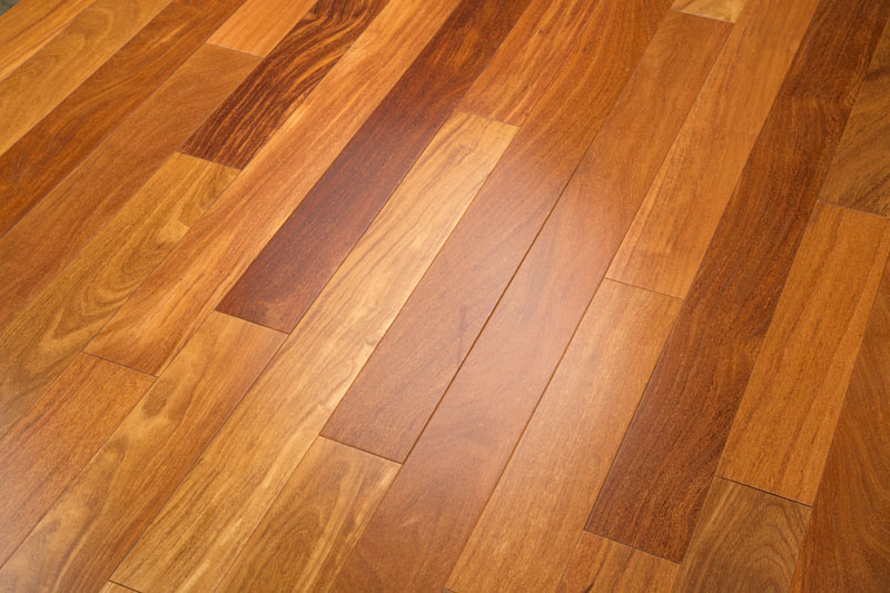 Cumaru, Brazilian Teak Prefinished Clear Hardwood Flooring