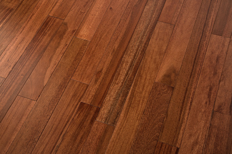 Java Walnut Hardwood Flooring Smooth AB 3.6""