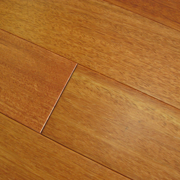 Kempas Natural Prefinished Flooring Smooth A 3.6""
