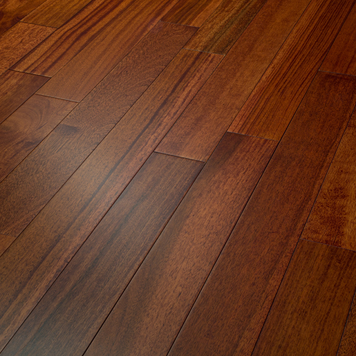 Kempas Espresso Prefinished Flooring Smooth ABC 3-1/8""