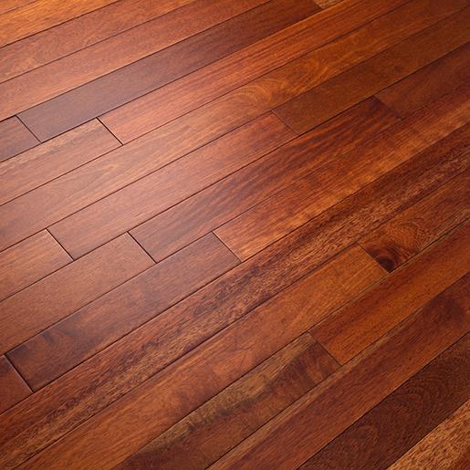 """Wood Stain Dusk: Kempas Sunset Prefinished Flooring Smooth ABC 3-1/8"""""""