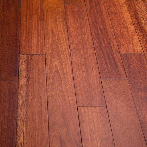 """Wood Stain Dusk: Kempas Sunset Prefinished Flooring Smooth ABC 3.6"""""""