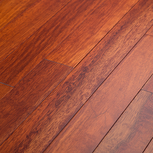 Kempas Sunset Prefinished Flooring Smooth ABC 3-1/8""