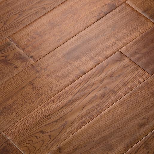 White Oak Asian Teak Hardwood Flooring Handscraped Abcd 4 9 Quot