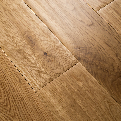 White Oak Natural Hardwood Flooring Handscraped ABCD 4.9""