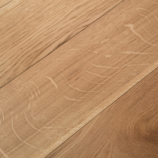 White Oak Natural Engineered Flooring Brushed Clear 3.5mm Face 5.7""