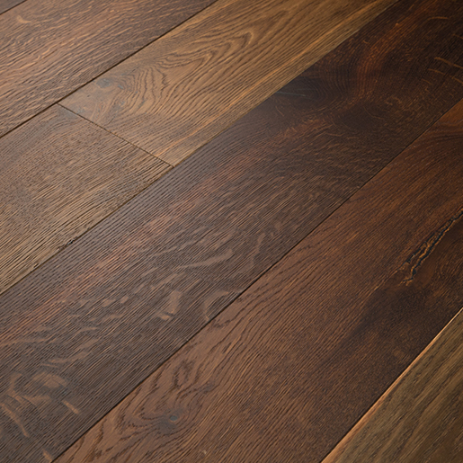 White Oak Smoked Engineered Flooring Brushed Clear 3 5mm