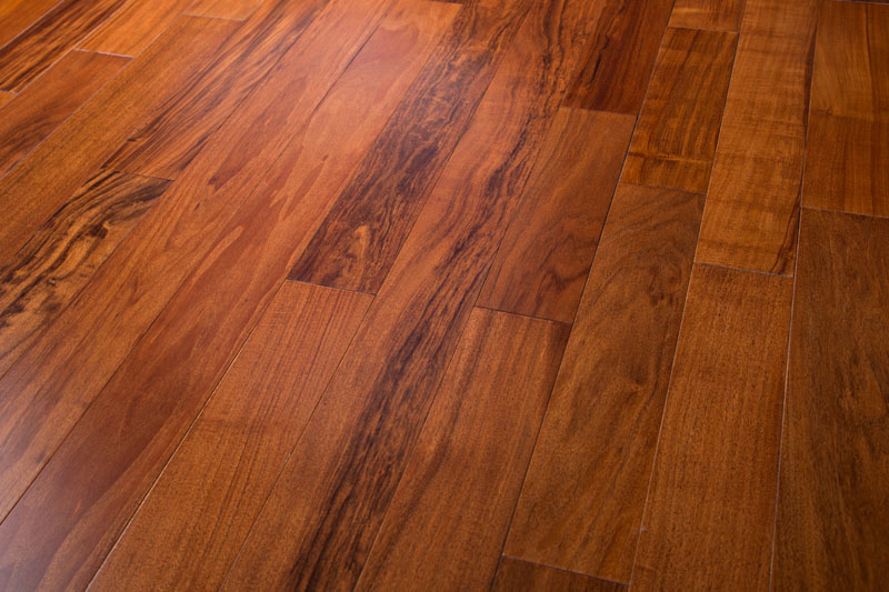 "Patagonian Rosewood 5"" Curupau Clear Dark Prefinished Flooring"