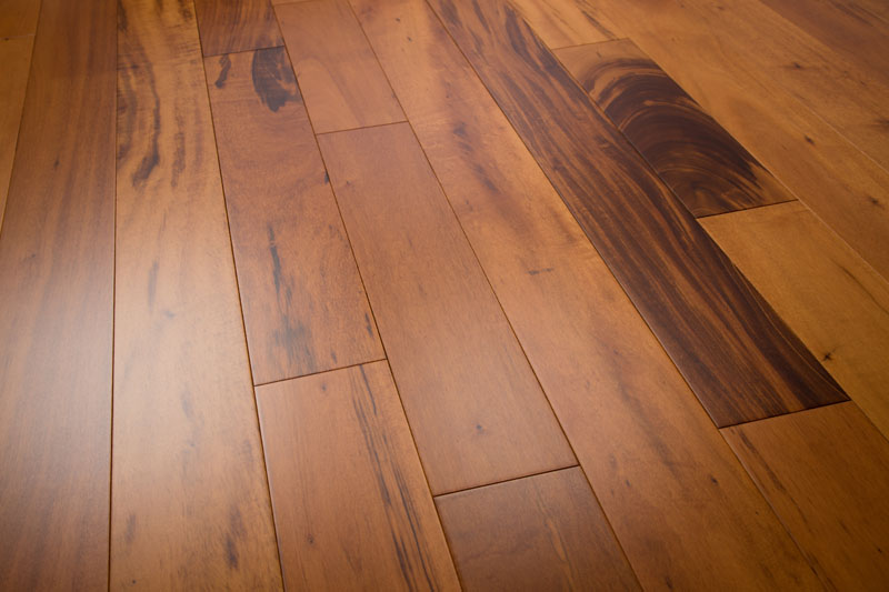 Tigerwood Hardwood Flooring Clear 4-7/8""
