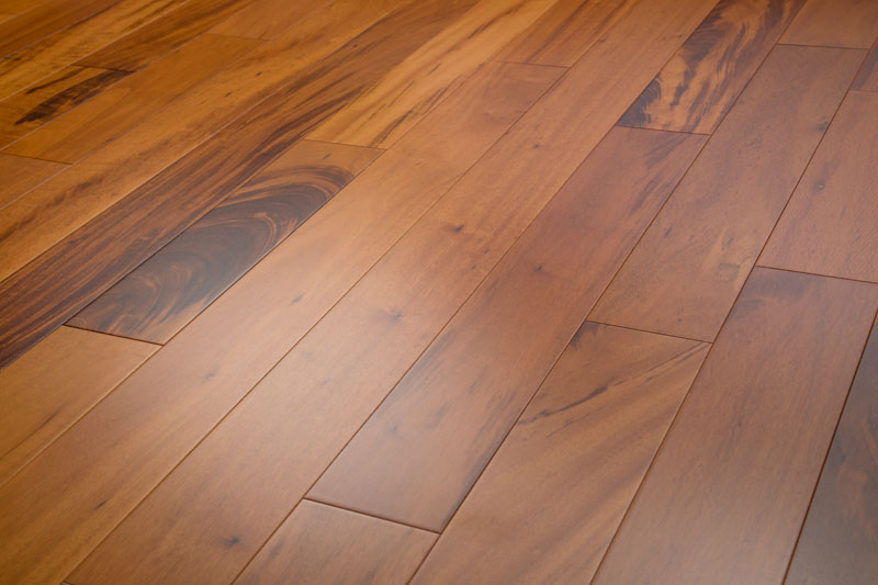 Tigerwood Hardwood Flooring Clear 3-5/8""