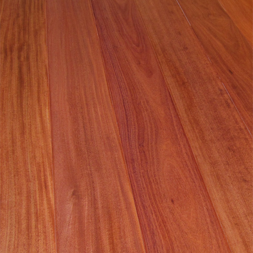 "Santos Mahogany Engineered Flooring 3.5mm Thickness 5.7"" Width"