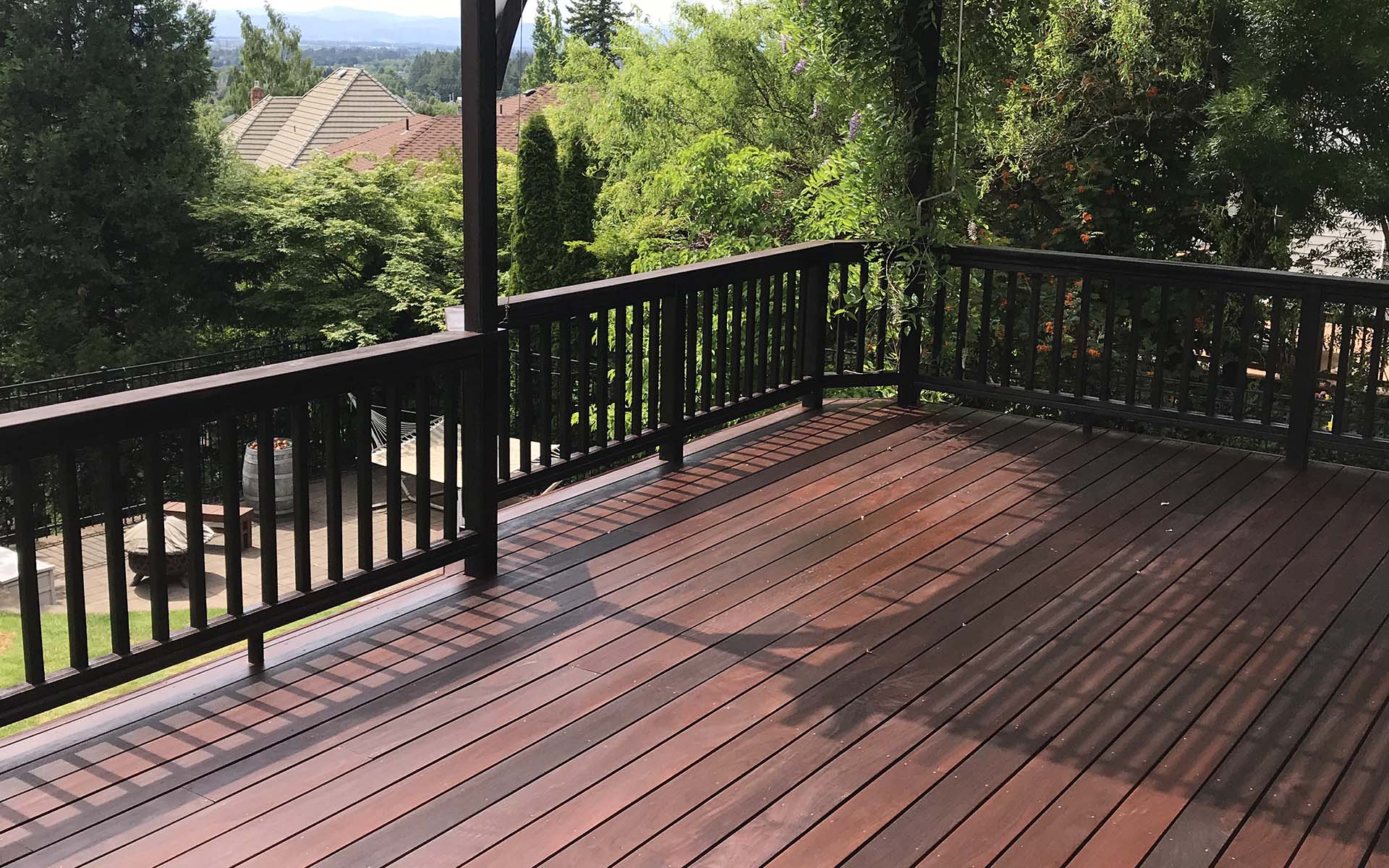 Exoshield the best tung oil wood stain for decking siding