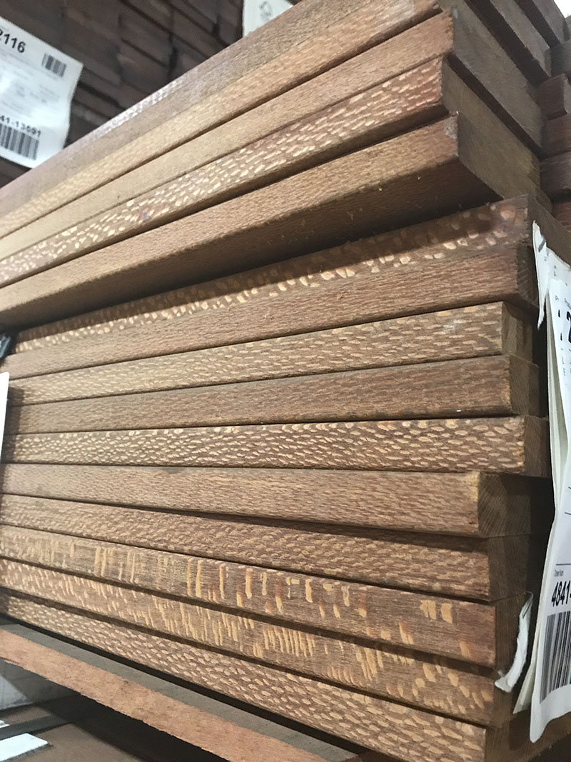 Hardwood Decking Unit