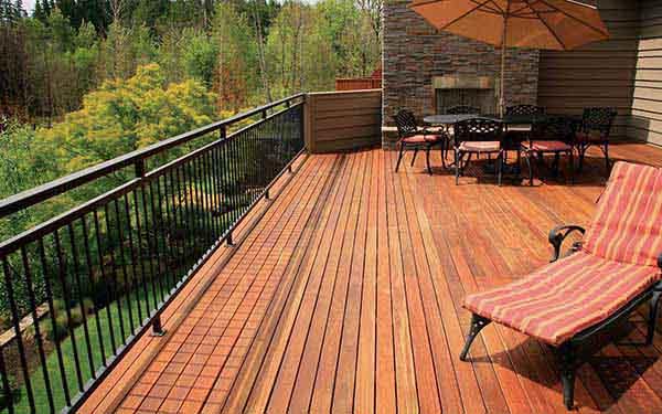 Hardwood Decking Ipe Batu Elemental Flooring Exotic Hardwoods