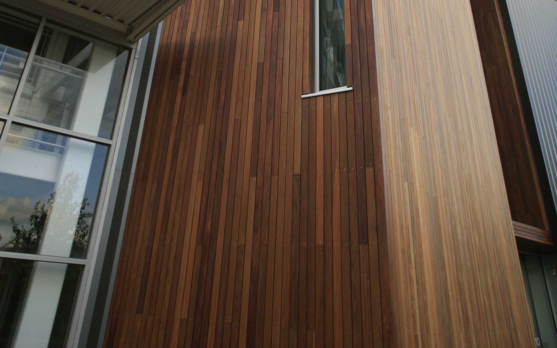 Wood Siding Ipe Batu Amp Cumaru Hardwood Rainscreen Siding
