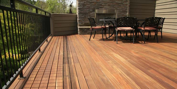 Comparison Of Ipe Decking Vs Cumaru Decking Hardwood